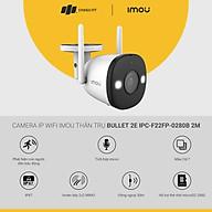 Camera IP WiFi IMOU thân trụ Bullet 2E 4M Full Color Micro Spotlight IP67 IR30m, 2Y WTY_IPC-F42FP - Hàng chính hãng thumbnail
