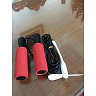Dây nhảy thể dục,chất liệu PVC 3m tùy ý điều chỉnh- TẶNG KÈM QUẠT USB thumbnail