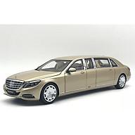 Xe Mô Hi nh Mercedes-Maybach S 600 Pullman Mh 1 18 Autoart - 76298 (Va ng) thumbnail