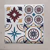 Decal dán tường đẹp hình gạch bông WD146 thumbnail