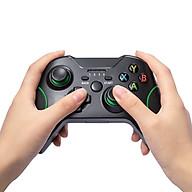 Tay cầm chơi game không dây Hỗ trợ Rung chắc chắn đầm tay - Hỗ trợ kết nối PC và Android và Playstation - Chơi fifa online 4 and game on steam joystick thumbnail