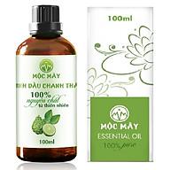 Tinh dầu Chanh tươi (Chanh Thái) 100ml Mộc Mây - tinh dầu thiên nhiên nguyên chất 100% - chất lượng và mùi hương vượt trội - Có kiểm định thumbnail