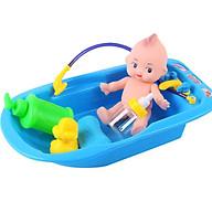 Bộ đồ chơi phụ kiện tắm cho búp bê ( Tặng 5 cặp dây cột tóc cho bé ) thumbnail
