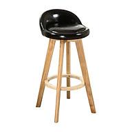 Ghế bar Alta bọc da PU chân sơn nhiệt giả gỗ thumbnail