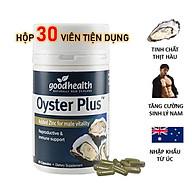 Tinh chất hàu New Zealand Good Health Oyster Plus tăng cường sinh lý nam giới 3wolves thumbnail