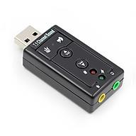 Bộ Chuyển Đổi USB Sound Âm Thanh 3D Taiwan 7.1 AZONE thumbnail