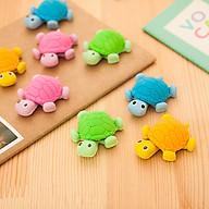 Tẩy bút chì ngộ nghĩnh hình con rùa siêu xinh cho các bé (Màu giao ngẫu nhiên) E409 thumbnail