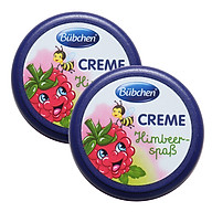 [Combo 2 Hộp] Kem dưỡng da Bubchen mùi Quả Dâu Creme Himbeerspab (20ml x 2 hộp) thumbnail