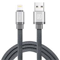 Cáp Lightning USB Recci Canvas - Hàng Chính Hãng thumbnail