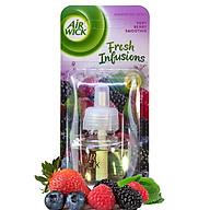 Lọ tinh dầu thiên nhiên Air Wick Very Berry Smoothie 19ml QT04993 - hương dâu tây thumbnail