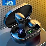 Tai Nghe Gắn Tai Không Dây HiFi TOPK T24 TWS Bluetooth 5.0 Gọi Kết Thúc Bằng Giọng Nói Cho OPPO Vivo Samsung HUAWEI Xiaomi - hàng chính hãng thumbnail