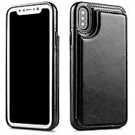 Bao da Iphone X, Xs, Xs Max, 6,7,8, Plus kiêm ví đựng tiền, thẻ, card rất tiện lợi thumbnail