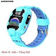 Đồng hồ thông minh trẻ em Anncoe AC98S nghe gọi hai chiều định vị Wifi + Dung lượng pin lớn 680mAh chống nước IP67 - Hàng Chính hãng thumbnail