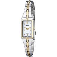 Seiko Women s SUP272 Two-Tone Watch thumbnail