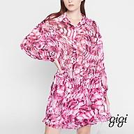 GIGI - Playsuits nữ cổ bẻ tay dài thời trang G22062026090-45 thumbnail