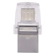 Thẻ Nhớ USB 3.1 Type-C OTG Cho MacBook 12 Kingston DataTraveler microDuo 3C (64GB) thumbnail
