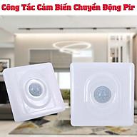 Công tắc cảm biến chuyển động pir 220v 110v tiện dụng điều chỉnh độ sáng và thời gian tùy ý thumbnail