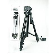 Chân máy ảnh chụp hình 3 chân Tripod3120 PKCB182 - Hàng chính hãng thumbnail