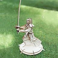 Đồ chơi lắp ráp gỗ 3D Mô hình Võ sỹ Samurai thumbnail