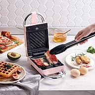 Máy Nướng Bánh Mì Sandwich Waffle Đa Năng 5 Khay Tiện Dụng Phiên Bản Mới 2021 thumbnail