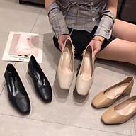 Giày Búp Bê Nữ Trơn Gót 5cm Siêu Xinh MBS288 - Mery Shoes thumbnail