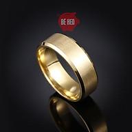 Nhẫn titan nam nữ - nhẫn nam bền màu - Trang sức Bé Heo BHN119 thumbnail