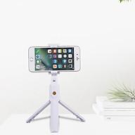 Gậy chụp ảnh tự sướng Selfiecom K07 - Tích hợp 3 chân tripod và remote bluetooth chụp từ xa - Hàng chính hãng thumbnail