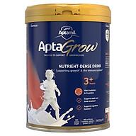 AptaGrow Nutrient-Dense Milk Drink From 3+ Years 900g Sữa Bột Công Thức Cho Bé Từ 3 đến 6 Tuổi Bổ Sung Men Tiêu Hóa, Sắt, Zinc, Canxi Với 18 Loại Vitamin và Khoáng Chất Cần Thiết thumbnail