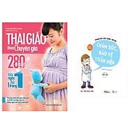 Combo sách Thai Giáo Theo Chuyên Gia - 280 Ngày - Mỗi Ngày Đọc Một Trang+ Chăm Sóc Sức Khỏe Trẻ Em ( Tập 5) Chăm Sóc , Bảo Vệ Toàn Diện thumbnail