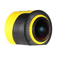 Ống Kính Mắt Cá Toàn Cảnh Detu Wifi Cho Kính Thực Tế Ảo VR Camera DVR (1080P) (30FPS) (8MP) thumbnail