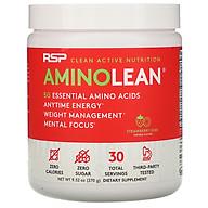 RSP AminoLean Năng lượng Gym bùng nổ (30SV) - Kiêm giảm mỡ - Mùi Stawberry Kiwi thumbnail