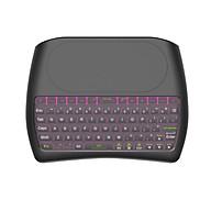 Bàn phím Bluetooth mini kết hợp bàn di chuột đa phương tiện D8 có đèn nền 2.4G thumbnail