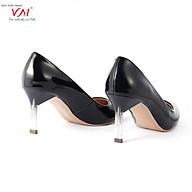 Giày cao gót nữ, chiều cao gót 7CM, da tổng hợp bóng êm ái, bền chắc và thời trang. Mũi nhọn, gót nhọn trong suốt, sang trọng và chắc chắn, thiết kế hiện đại, tinh tế, thời trang B.HT22-G.Trong-7F thumbnail