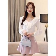 Áo Kiểu Cổ Bèo Tay Thắt Nơ Tiểu Thư - GMA1485 thumbnail