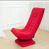 Ghế thư giãn tựa lưng, gấp gọn - ghế đệm tựa lưng ( giao màu ngẫu nhiên ) thumbnail