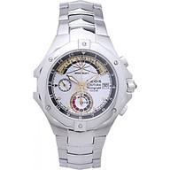 Đồng hồ NEOS N-50516M nam dây thép thumbnail
