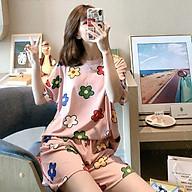 Bo Ngu Hoa Cha t Lie u Cotton Size To Xưởng May DCS thumbnail