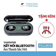 Tai Nghe Bluetooth Không Dây Nhét Tai Lanith 5.0 TWS F9 - Tặng dây cáp sạc 3 đầu - Hàng Nhập Khẩu - TAI000F9B.CAP001 thumbnail