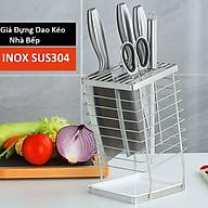Ống Cắm Dao Kéo Nhà Bếp INOX SUS304 Có Khay Chứa Nước - OENON thumbnail