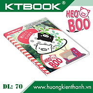 Gói 5 cuốn Tập học sinh cao cấp Heo Boo KTBOOK giấy trắng tốt ĐL 70 - 200 trang thumbnail