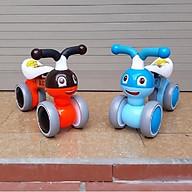 Xe chòi chân thăng bằng cho bé mẫu mới 2019 (xe bơi cân bằng hàng cao cấp)- màu cho bé trai- chọn màu ngẫu nhiên thumbnail