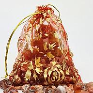 Túi Tài Lộc đá Thạch Anh Đỏ 100g thumbnail