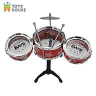 Đồ chơi hướng nghiệp - Bộ trống Jazz Drum cho bé Toyshouse - Nhạc cụ, âm nhạc cho bé yêu thumbnail