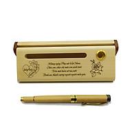 Bộ bút gỗ cao cấp tặng phụ nữ_mẫu 02 (Kèm hộp đựng sang trọng) thumbnail