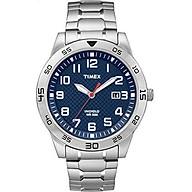 Timex Men s TW2P615009J Main Street Sport Silver-Tone Bracelet Watch thumbnail