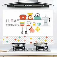 Giấy Dán Bếp Cách Nhiệt Tráng Nhôm trang trí và làm đẹp bếp 60 x 90 cm thumbnail