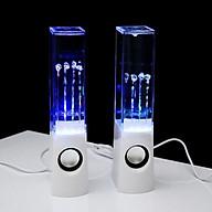 Bộ Loa Vi Tính Nhạc Nước Đèn LED Phát Sáng Nhảy Theo Điệu Nhạc - Nguồn USB Jack 3.5 thumbnail