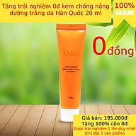 Kem chống nắng Queenie dưỡng trắng, bảo vệ da hoàn hảo 20ml - Mỹ Phẩm Hàn Quốc thumbnail
