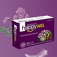 Viên Ngủ Ngon Happywel hỗ trợ giấc ngủ ngon từ dược liệu quý - hộp 20 viên thumbnail
