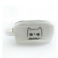 Hộp bút Meow da PU thumbnail